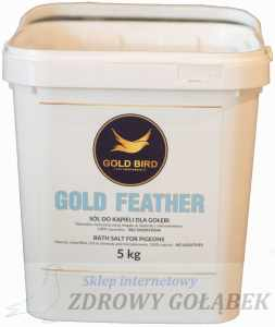 GOLD FEATHER - Sól do kąpieli dla gołębi *** 5kg***